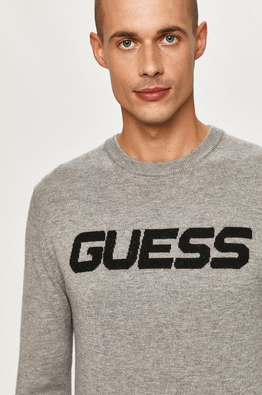 jasny szary Guess Jeans - Sweter