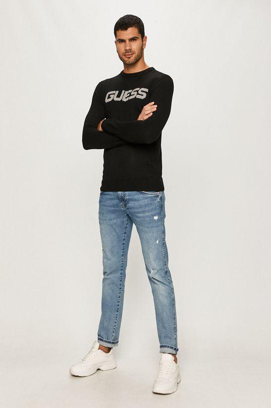 Guess Jeans - Sveter čierna