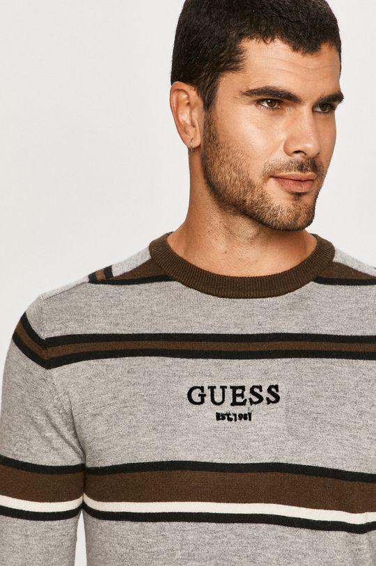 Guess Jeans - Pulover De bărbați
