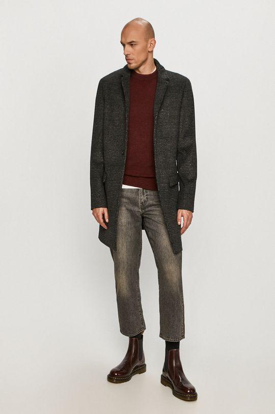 Calvin Klein - Sweter K10K105748 kasztanowy