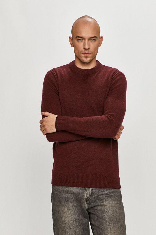 kasztanowy Calvin Klein - Sweter K10K105748