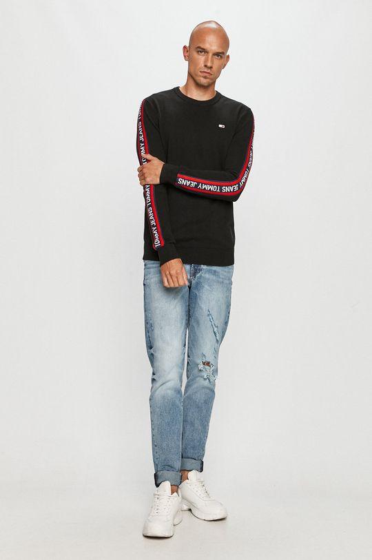 Tommy Jeans - Pulover negru