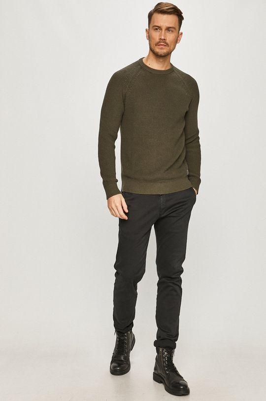 Selected - Sweter zielony