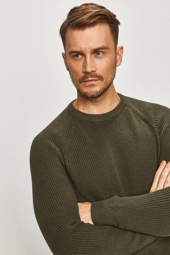zielony Selected - Sweter