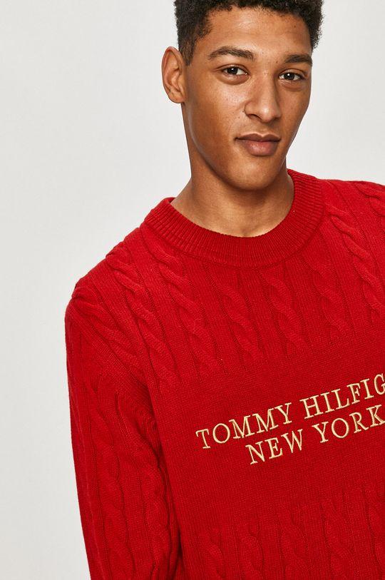 červená Tommy Hilfiger - Svetr