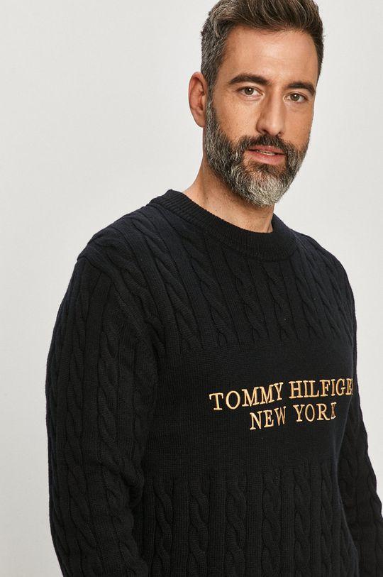 námořnická modř Tommy Hilfiger - Svetr Pánský