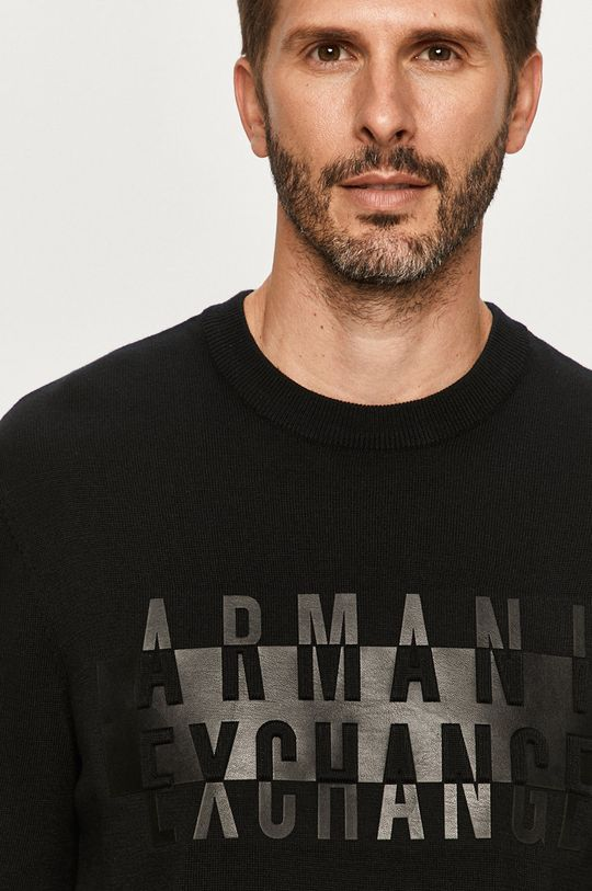 čierna Armani Exchange - Sveter