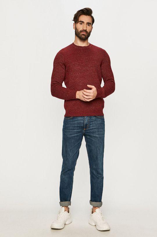 Mustang - Sweter czerwony