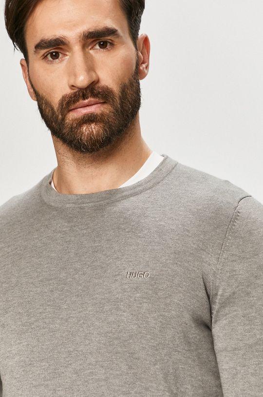 jasny szary Hugo - Sweter