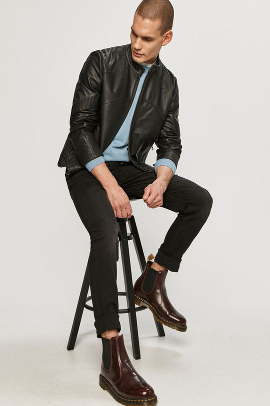 Hugo - Sweter niebieski