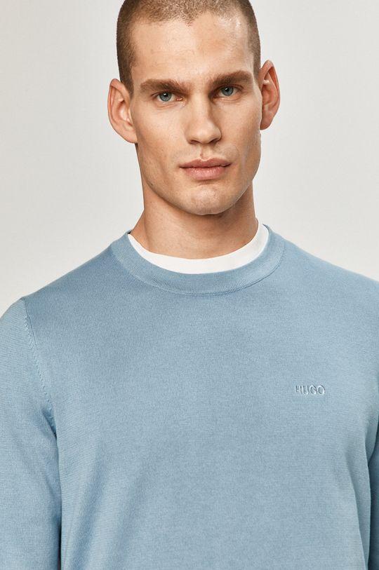 niebieski Hugo - Sweter