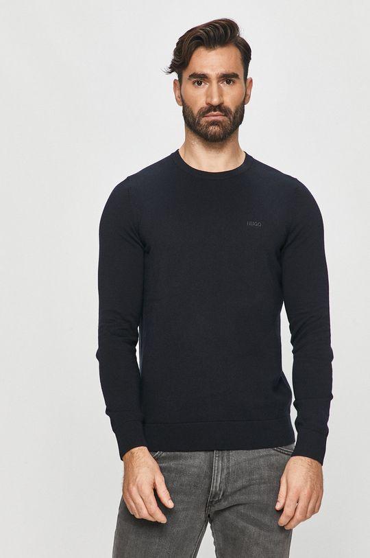 granatowy Hugo - Sweter