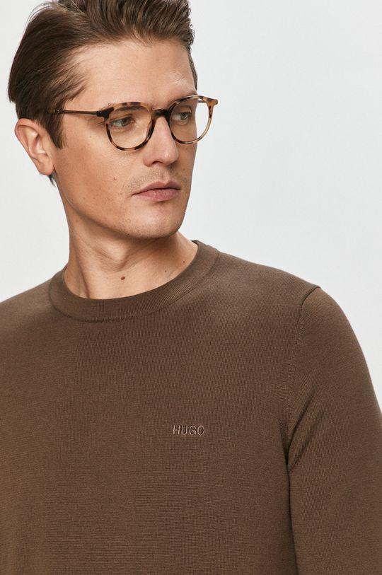 brązowy Hugo - Sweter
