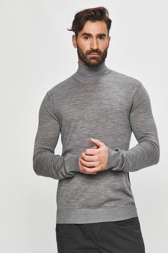 szary Tailored & Originals - Sweter
