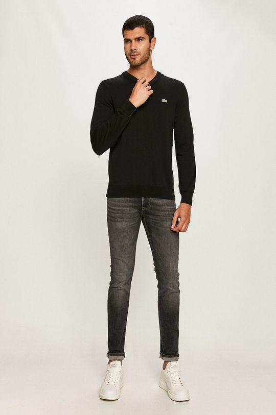Lacoste - Sweter czarny