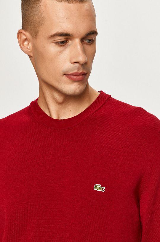 kasztanowy Lacoste - Sweter