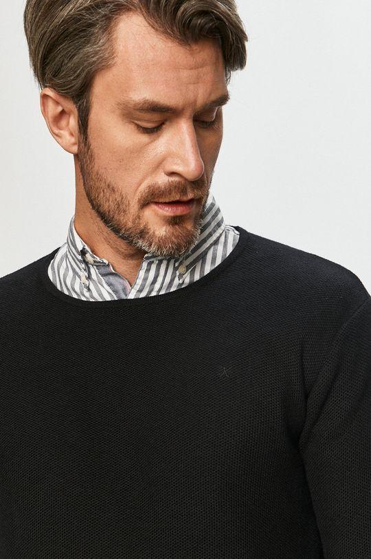 czarny Clean Cut Copenhagen - Sweter