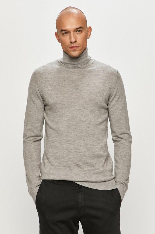 jasny szary Clean Cut Copenhagen - Sweter Męski