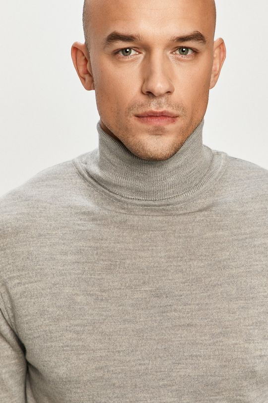 jasny szary Clean Cut Copenhagen - Sweter