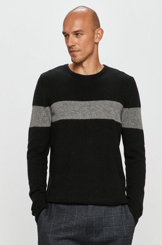 negru Clean Cut Copenhagen - Pulover De bărbați