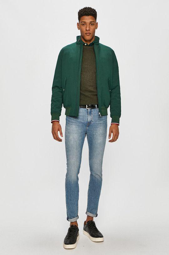 Tommy Hilfiger - Sweter MW0MW15769 zielony