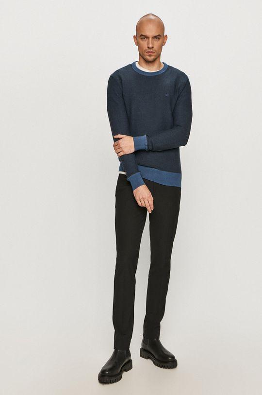Calvin Klein - Sveter tmavomodrá