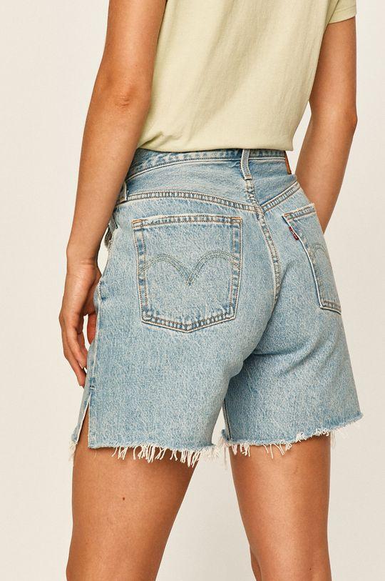 Levi's - Džínové šortky  100% Bavlna