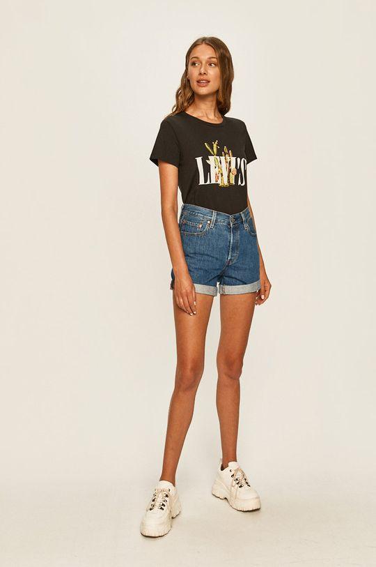 Levi's - Szorty jeansowe jasny niebieski