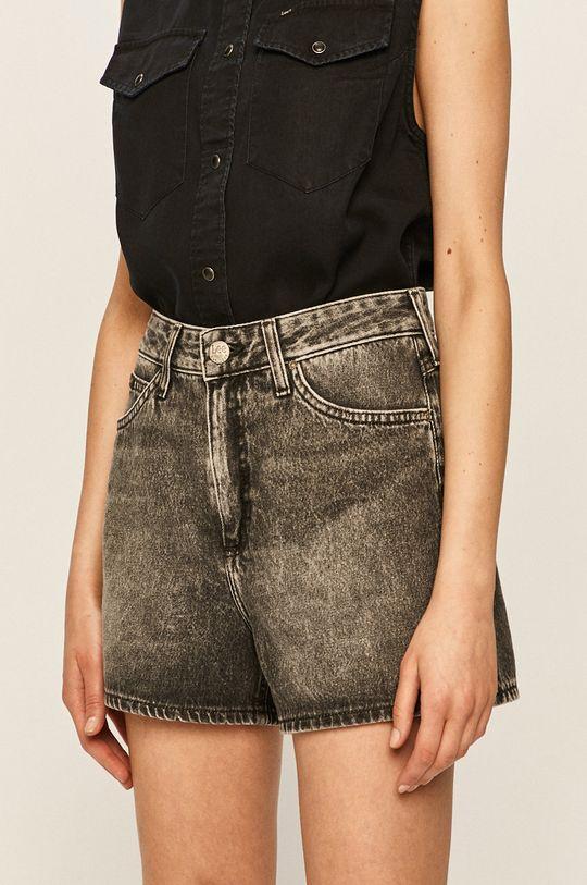 gri Lee - Pantaloni scurti jeans De femei