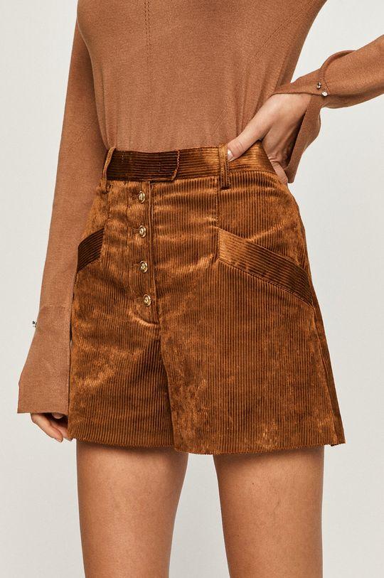 maro auriu Pinko - Pantaloni scurti De femei
