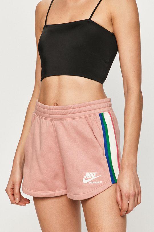 brudny róż Nike Sportswear - Szorty Damski
