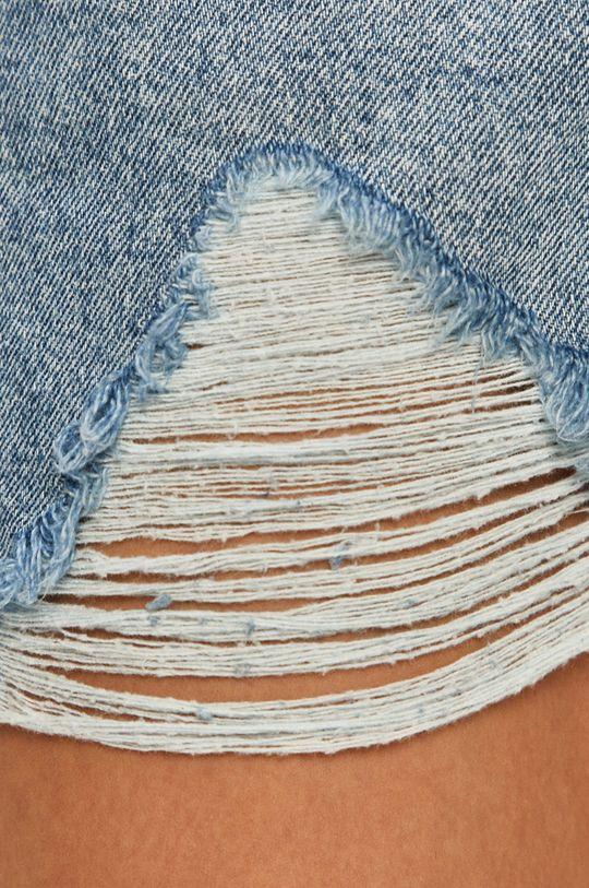 niebieski Tally Weijl - Szorty jeansowe