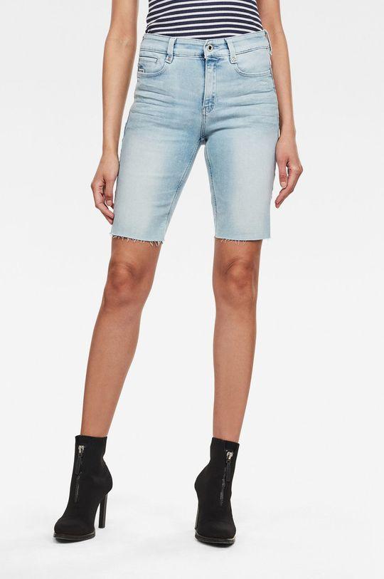 modrá G-Star Raw - Džínové šortky Dámský