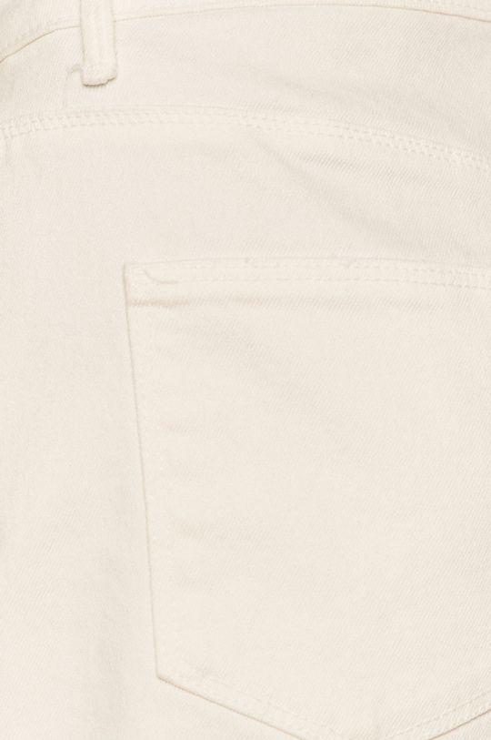 biela Jacqueline de Yong - Rifľové krátke nohavice