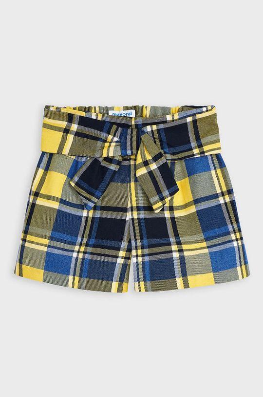 Mayoral - Detské krátke nohavice 104-134 cm svetložltá
