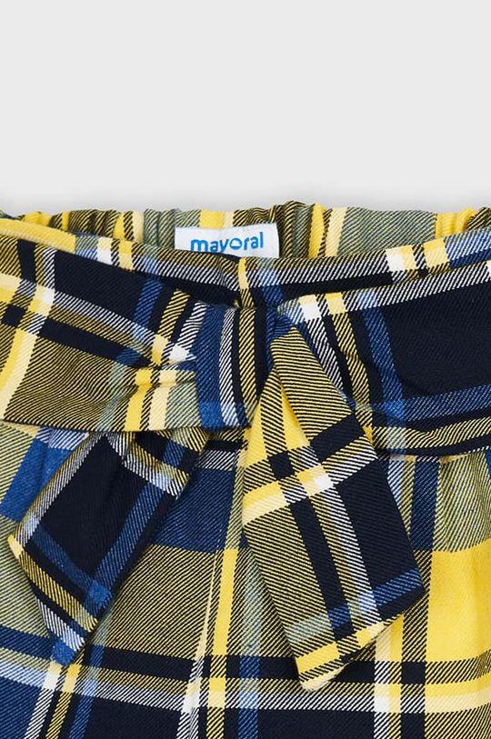 svetložltá Mayoral - Detské krátke nohavice 104-134 cm