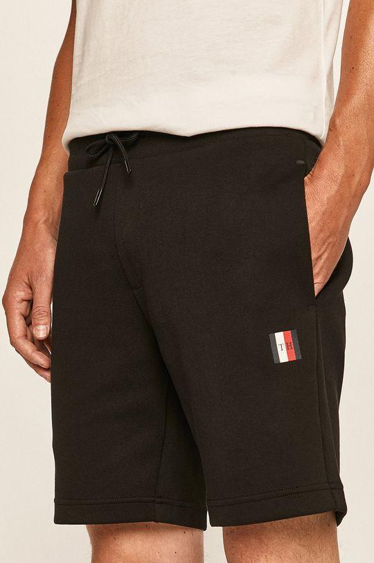 negru Tommy Hilfiger - Pantaloni scurti De bărbați