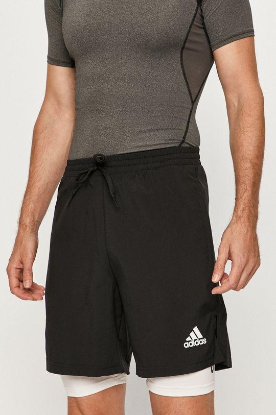 чорний adidas - Шорти Чоловічий