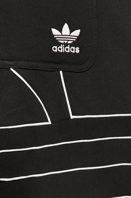 negru adidas Originals - Pantaloni scurti