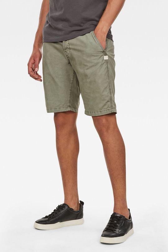 masliniu deschis G-Star Raw - Pantaloni scurti De bărbați