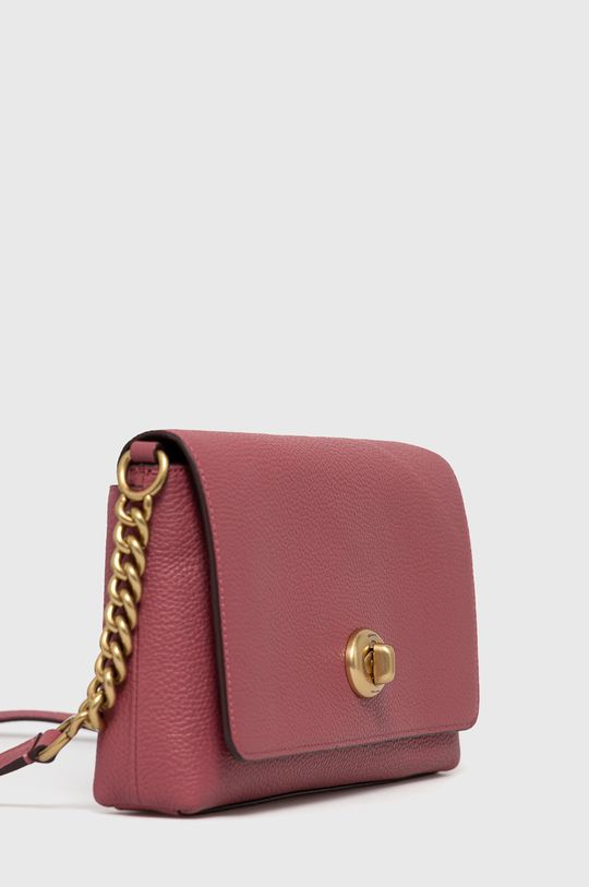 Coach - Kožená kabelka růžová