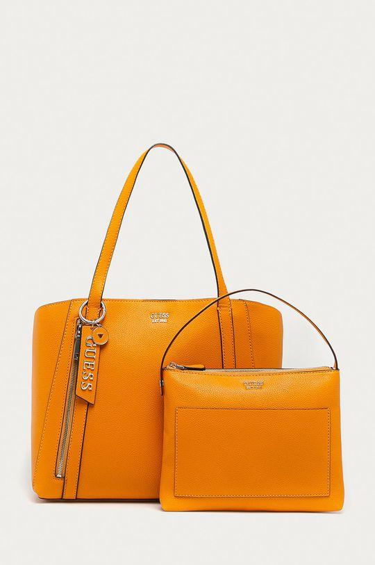 oranžová Guess Jeans - Kabelka Dámský