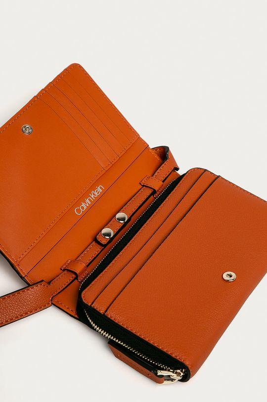 portocaliu Calvin Klein - Portofel