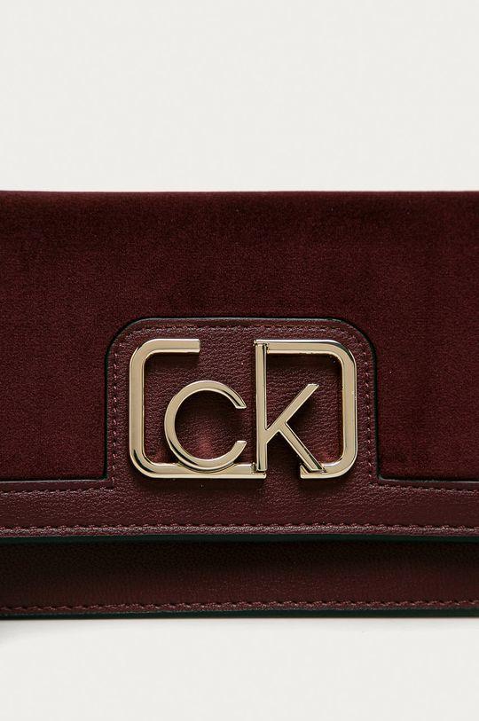 Calvin Klein - Kabelka purpurová