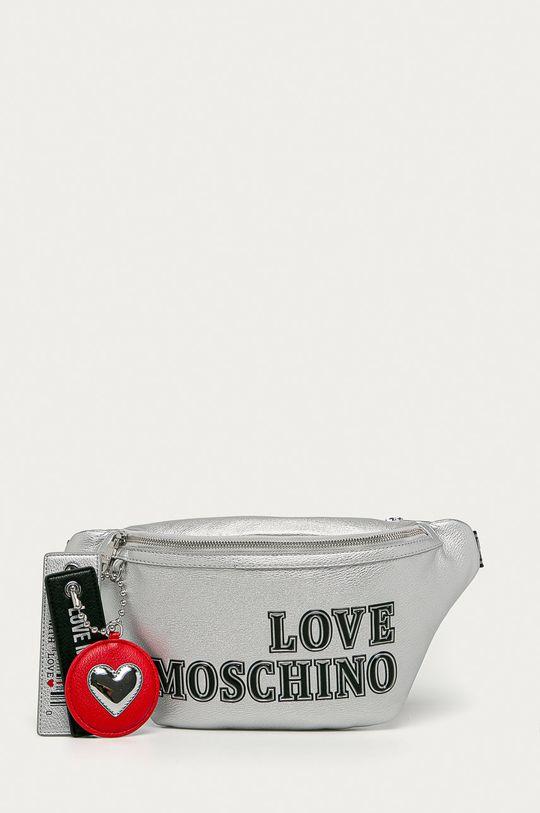 strieborná Love Moschino - Ľadvinka Dámsky