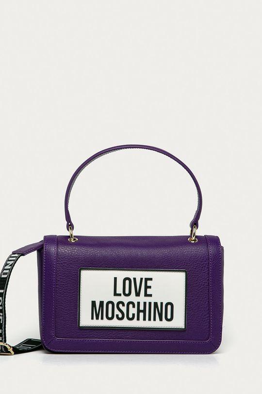 violet Love Moschino - Poseta de piele De femei