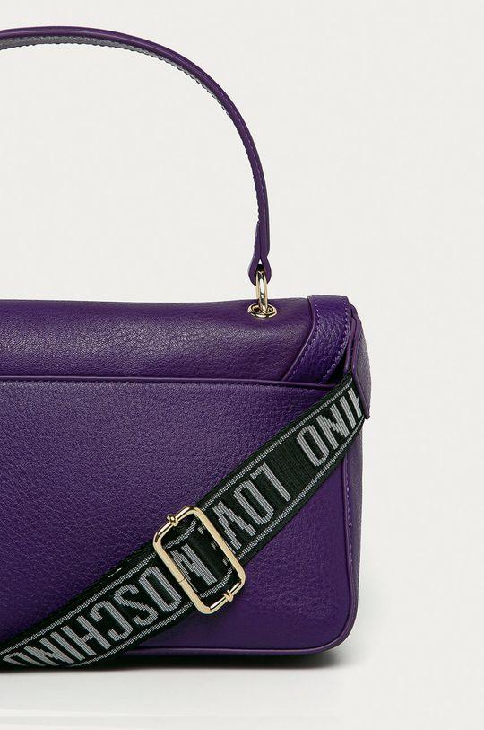 violet Love Moschino - Poseta de piele