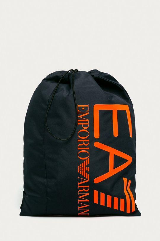 granatowy EA7 Emporio Armani - Plecak 275973.CC980 Damski