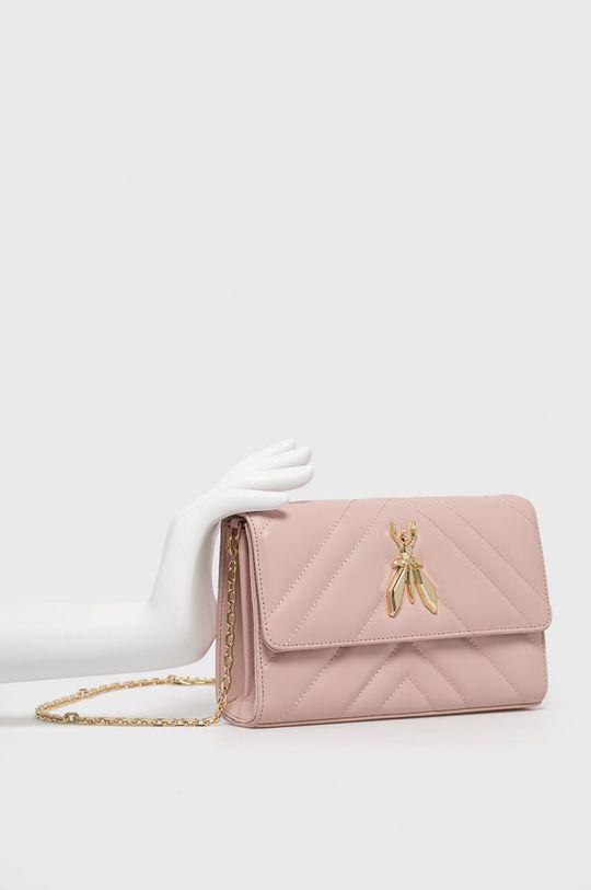 Patrizia Pepe - Kožená kabelka ružová