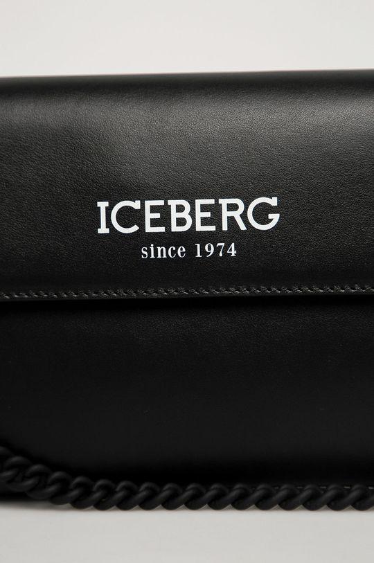 Iceberg - Bőr táska fekete